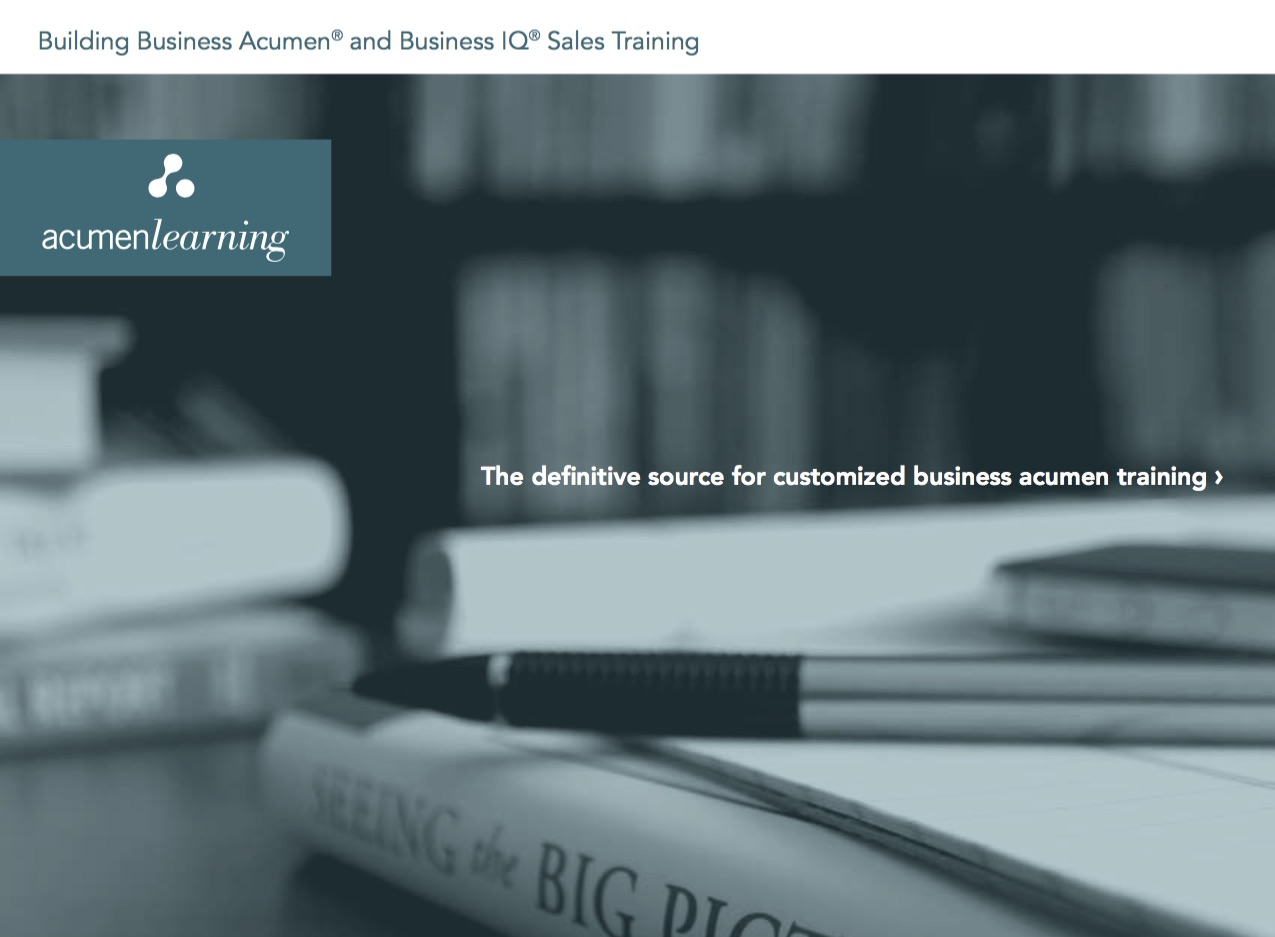 Acumen Learning Brochure