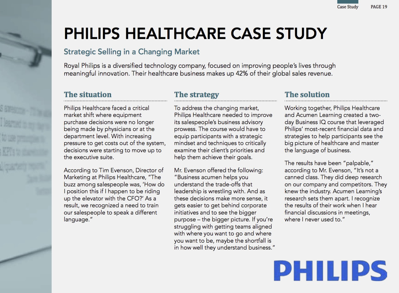 Phillips Case Study