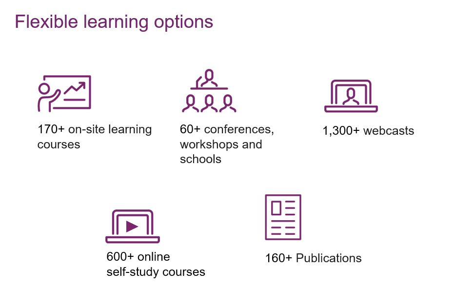 Flexible learning options
