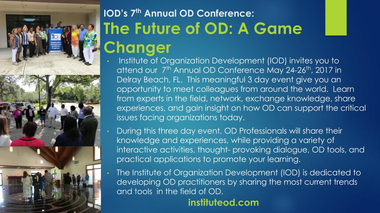 IOD Annual Conference 2017