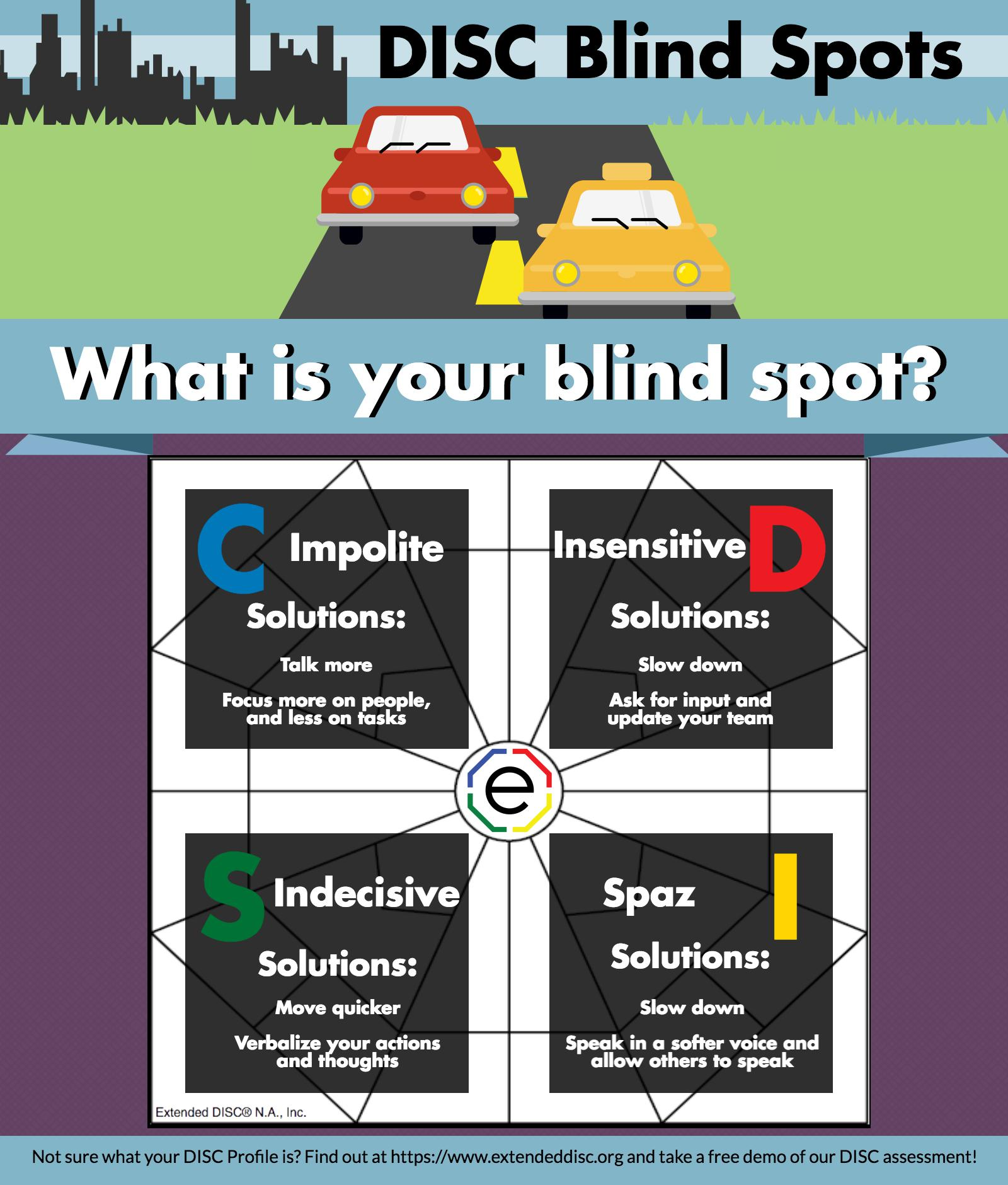 DISC Blind Spots: What Do You Mean I'm...
