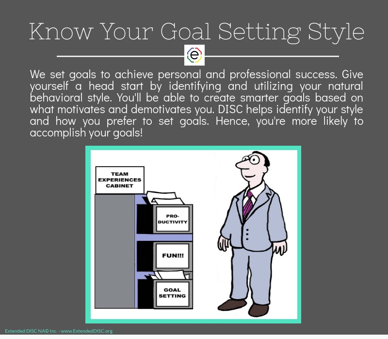 Goal Setting Style Infograpic