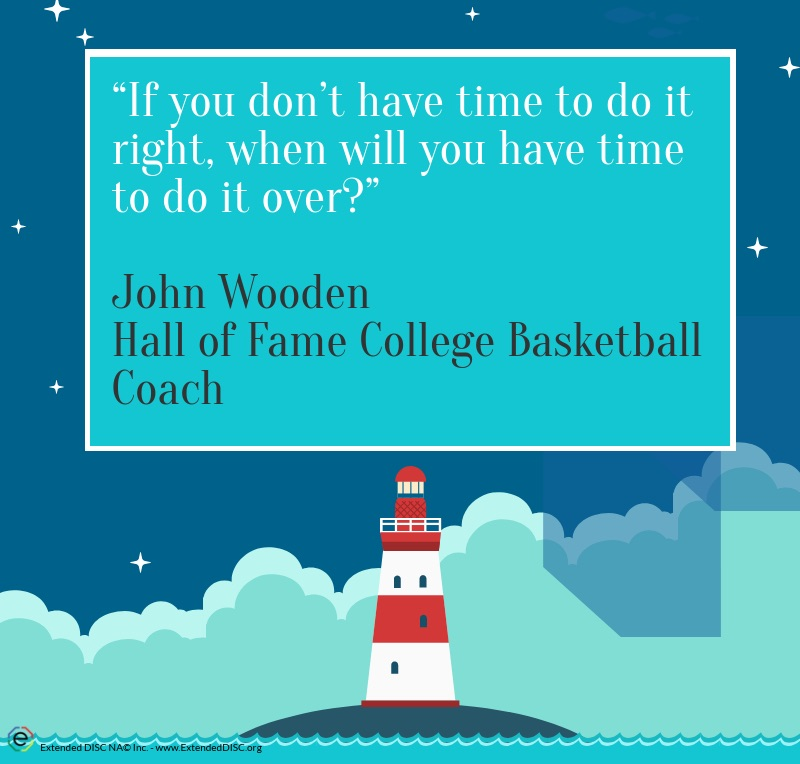 John Wooden Leadership Style Quote