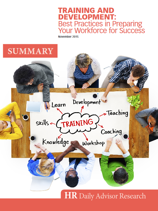 Training and Development: Best Practices...