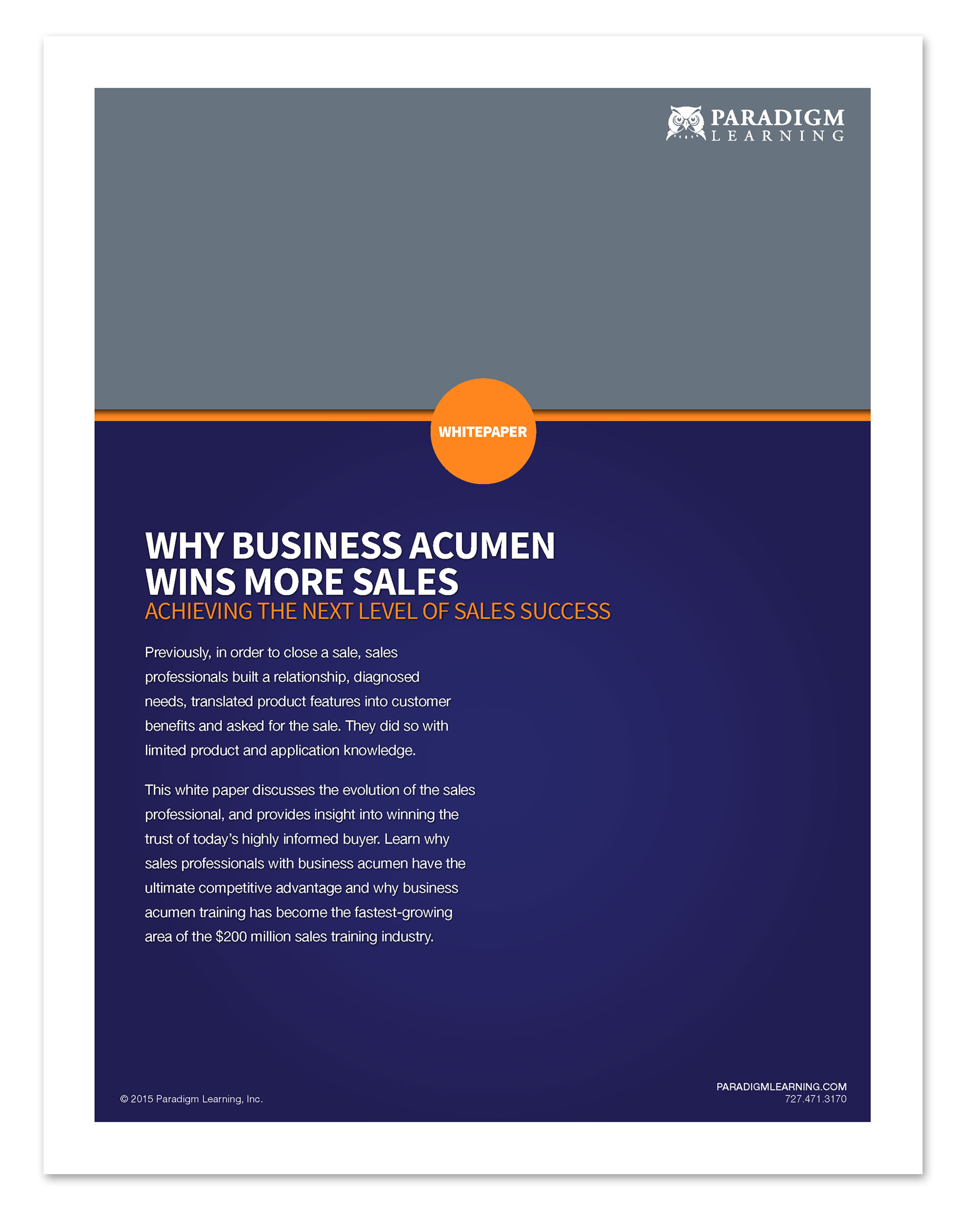 WhitePaper: Why Business Acumen Wins Mor...