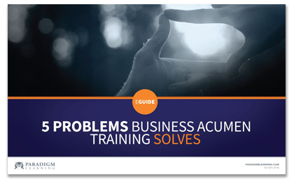 eGUIDE: 5 Problems Business Acumen Solve...