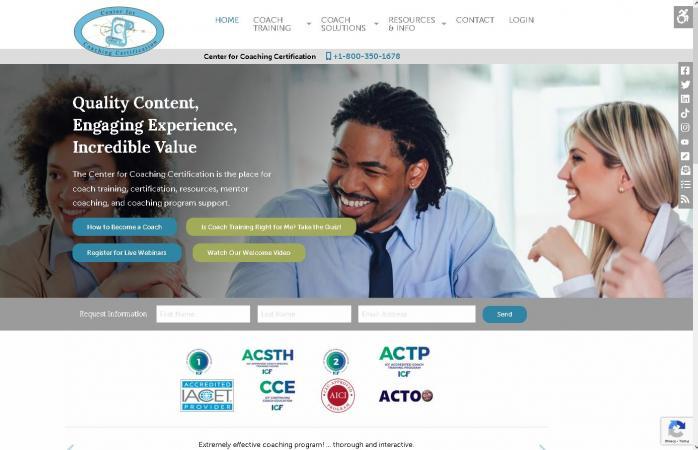 Center For Coaching Certification Association For Talent Development