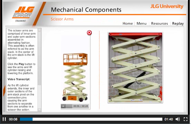 Client Example: JLG Industries