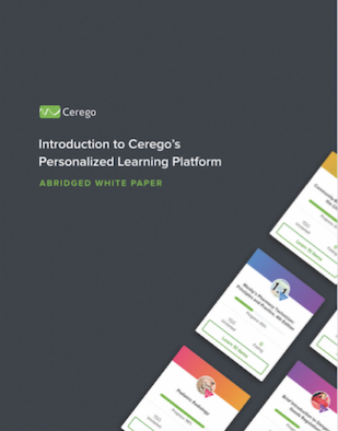 Introduction to Cerego's Personalized Le...