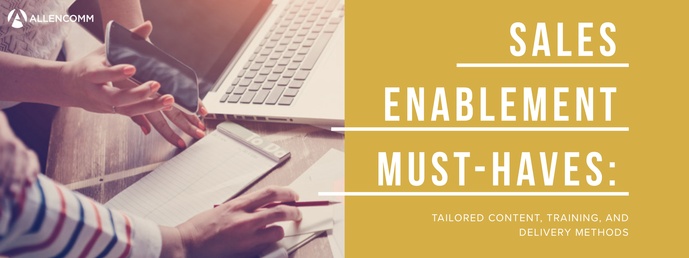 Sales Enablement Must Haves