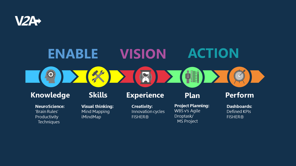 Consulting - Vision2Action Framework