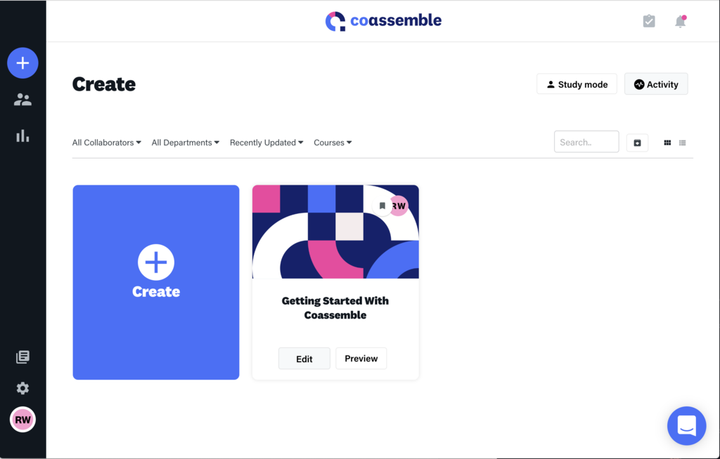 Coassemble - Create
