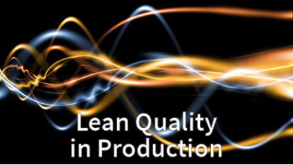 Lean Quality in Production Graduate Cert...
